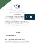Practica Calificada 3 Caso Starbucks Marketing Relacional y CRM