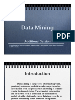 Data Mining Session