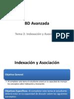 Tema 2 - Indexación y Asociación