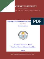 BBA1003BCOM1003 Principles of Financial Accounting