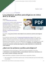 Los primeros auxilios psicológicos en niños de 6 a 10 años _ Faros HSJBCN