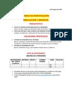proyecto de investigacion de SIMULACION Y MODELOS