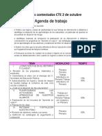PRODUCTOS CONTESTADOS PRIMERA SESION ORDINARIA CTE 2020