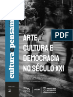 Publicação_Arte, Cultura e Democracia no Século XXI