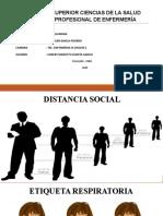 DISTANCIA SOCIAL COVID 19