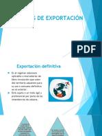 REGIMENES DE EXPORTACIÓN .pptx