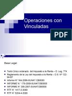 Operaciones Con Vinculadas e IGV MODIFICADO