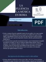 Influencia musica roma