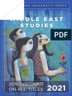 Stanford University Press   Middle East Studies 2021 Catalog