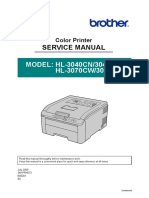Brother HL-3040CN-HL3045CN-HL3070CW-HL3075CW Service Manual