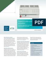 SIEMENS KNX SOLAR PROTECTION ACTUATORS-BROCHURE.pdf