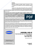Challenge MS5 Paper Drill Service Manual