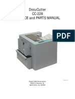 Duplo CC-228 Service and Parts Manual