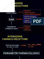 2- Teorie recettoriali