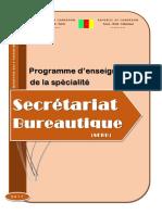 PROGRAMME D'ENSEIGNEMENT SEBU
