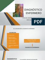 DIAGNÓSTICO ENFERMERO
