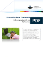 Connecting Rural Communities Asia 2009