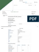 Consulta CPF Serasa