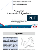 AULA Epigenetica e alimentos funcionais