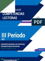 S8 - 3P - 601 - CONCURSO NACIONAL DE ESCRITURA