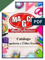 Catalogo Escolar y Papeleria 2020