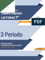 S4 - P1  Y P3 - 7° -  COMPETENCIAS LECTORAS