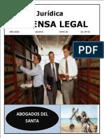 REVISTA  JURIDICA DEFENSA LEGAL NUMERO  3