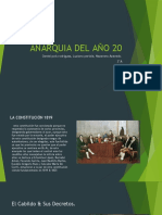 ANARQUIA DEL AÑO 20 arg