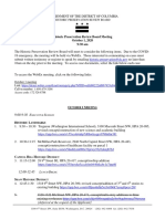 HPRB Revised Agenda 2020 10 01