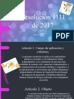 Cartilla resolucion 1111 de 2017 carpinteria la 40