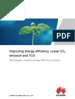 whitepaper-huawei energy efficiency solution