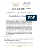 biodegradacao de surfactantes