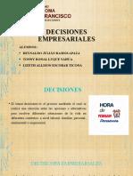 DECISIONES EMPRESARIALES GRUPO 9
