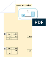 Practica Mate-Fin, Flujo e indicadores Plantilla