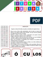 02 - LEITURA DIVERTIDA COM PALAVRAS TRISSÍLABAS  - PROF.RUBIANE