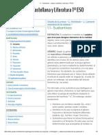 1.1.- Sustantivos - Lengua Castellana y Literatura 1º ESO