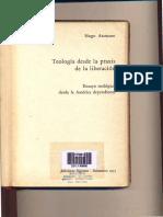 Teologia desde la praxis.Assman