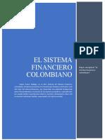 Mapa Conceptual-el Sistema Financiero Colombiano