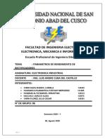 ultimo trabajo de electronica industrial