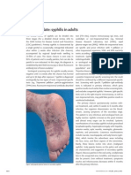 Clinical update- syphilis in adults