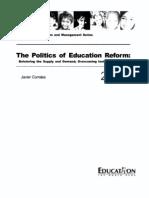 The_politics_of_ed_reform_EN98