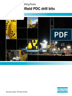 Oilfield PDC drill bits Atlas Copco