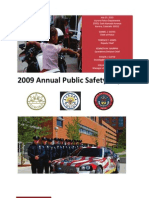 2009 Annual Public Safety Report