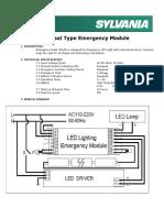 P26120 universal emergency module