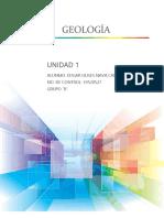 GEOLOGIA UNIDAD 1