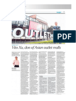 The Straits Times ~ Vito Xu, don of Asian outlet malls