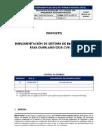 PETS 06 - EXCAVACIÓN DE ZANJA EN TT2 Y STACKER CON MAQUINARIA (RETROEXCAVADORA)