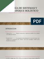 Teoría de Sistemas y el enfoque holístico