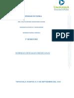 NORMAS OFICIALES DE SALUD