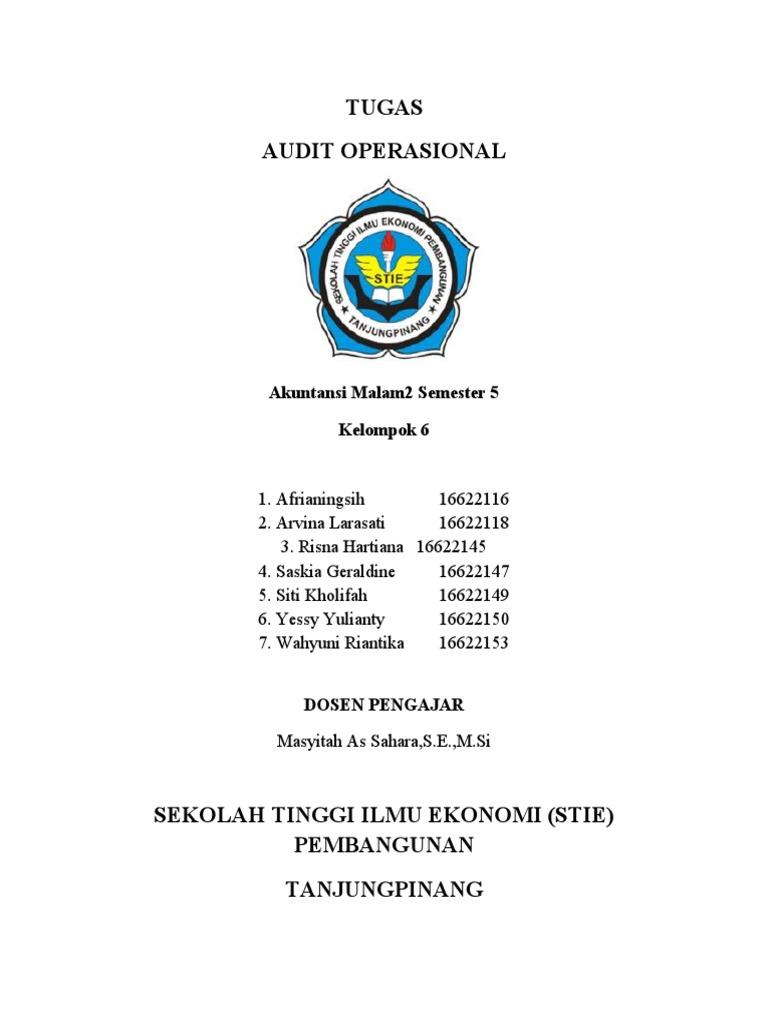 Laporan Audit Manajemen Pt Serat Sutra
